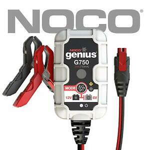 Noco Genius 6v 12v 750ma 1 1 Amp Advanced Battery Trickle Charger Maintainer