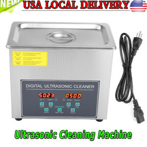 3l Double frequency Digital Stainless Steel Ultrasonic Cleaner Cleaning Machine