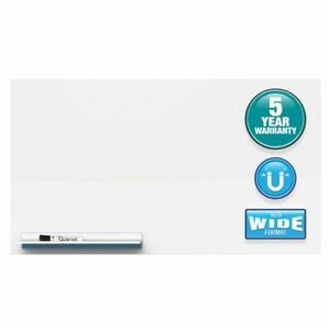 Quartet Continuum Magnetic Dry erase Board Porcelain 15 X 26 White