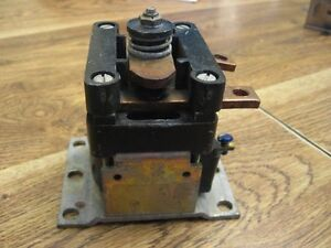General Electric Car Forklift Ev100 Contactor Ic 4482 Ctta100ah124xn Hyster Ge