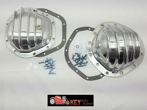 Polished Aluminum Differential Cover Gm 12 Bolt Truck Dana 44 Chevy Gmc K10
