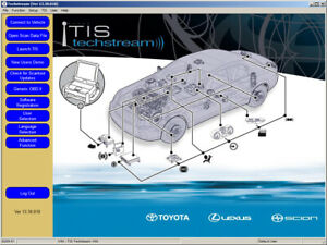 Latest Techstream Toyota Lexus Tis V13 30 018 For Unlimited Computers Install