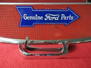 1957 1958 Ford Fairlane 500 2 Door H t Windshield Molding Trim f722