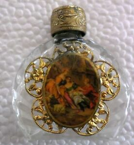 Rare Old Beautiful Perfume Bottle