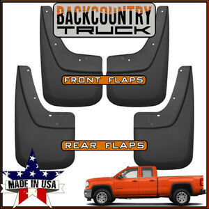 Backcountrytruck Mud Flaps For 2014 2019 Gmc Sierra 2019 Sierra 1500 Limited