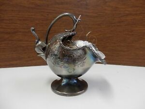 Cooper Bros Silver Plated Sugar Bowl Scuttle W Spoon Scoop