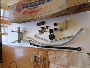 Rambler Marlin Classic 1965 66 Transmission Nos Clutch Bellcrank Linkage Kit