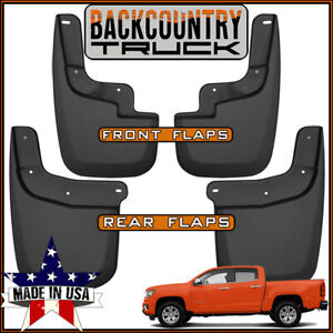 Backcountrytruck Mud Flaps 2015 19 Chevy Colorado Gmc Canyon W o Fender Flares