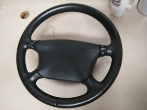 Porsche 996 Boxster Steering Wheel Black Leather Automatic 97 04