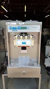 2001 Taylor 337 Cart Soft Serve Ice Cream Frozen Yogurt Machine Warranty 3ph Air
