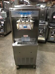 2004 Taylor 336 Soft Serve Frozen Yogurt Ice Cream Machine Warranty 1ph Air