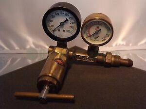 Airco 300 4000 Psi Vintage Brass Regulator