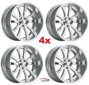 20 Royal Pro Wheels Rims Custom Forged Billet American Staggered Foose Intro Us