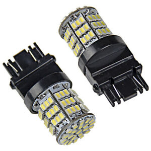 2 X Super Bright White 3157 85 Smd Led Brake Tail Light Bulb Backup Reverse Car