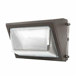 2 pack100watt Outdoor Led Wall Pack Light 5000k Ul Dlc Listed Replace 800mh Ip65