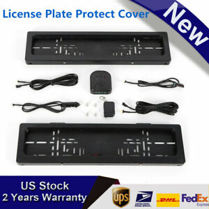 License Plate Protect Cover Device Fit For European Size Euro Saudi Arabia Uae