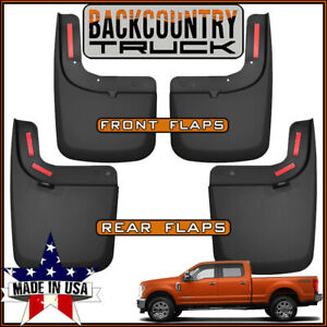 Backcountrytruck Mud Flaps 2017 2019 For Ford F 250 F 350 With Oem Fender Flares