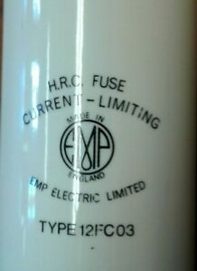 Emp Electric Limited H r c Fuse Current Limiting Type 12fc03