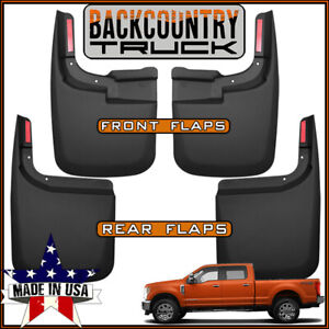Backcountrytruck Mud Flaps 2017 2019 Ford F 250 F 350 Without Oem Fender Flares