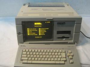 Vintage Smith Corona Pwp 5100 Personal Word Processor With Keyboard 5h