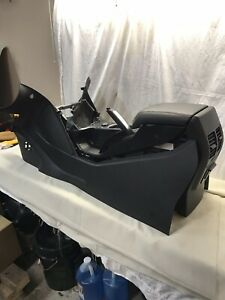 13 17 Ford Escape Titanium Floor Center Console W Rear Ac Went Brake Shifter