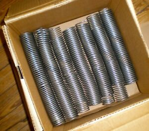 Coil Binding 38 Mm Silver 4 1 Pitch Spiral Binding 12 Opened Box 69 Pieces