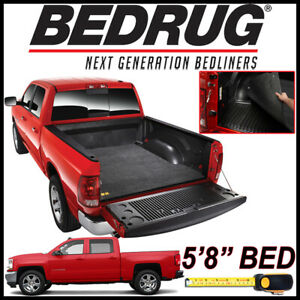 Bedrug Classic Bed Mat Liner For 2007 2018 Chevy Silverado 1500 Fits 5 8 Bed