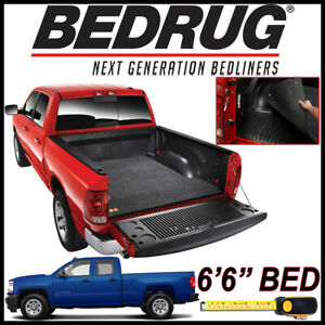 Bedrug Classic Bed Mat Liner For 2007 2018 Chevy Silverado 1500 Fits 6 5 Ft Bed
