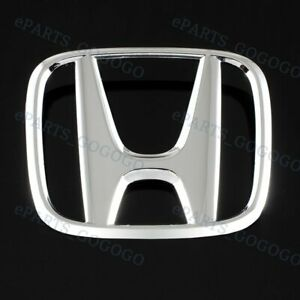 New Rear Trunk H Emblem For 2008 2012 Honda Accord Coupe 2 Door Chrome