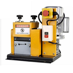 220v Automatic Recycle Wire Scrap Cables Stripper Copper Stripping Machine
