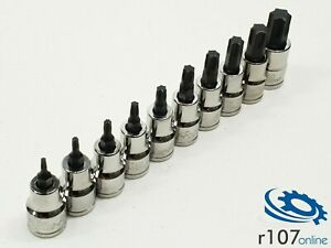 Blue Point 3 8 Torx Socket Set T10 T60 Incl Vat As Sold By Snap On