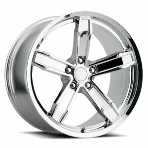 Factory Reproductions Z10 Iroc Z Rim 20x11 5x120 Offset 43 Chrome Qty Of 1