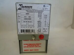 New Hammond Qeh9p Single Phase Transformer 015kva Type Q
