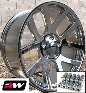 Chrysler 300 Oe Replica Wheels Chrome 22 Inch 22x9 Dodge Viper Rims