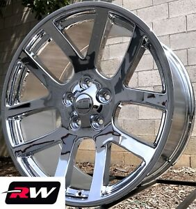 Chrysler 300 Oe Replica Wheels Chrome 22 Inch Dodge Viper Rims 22x9 5x115