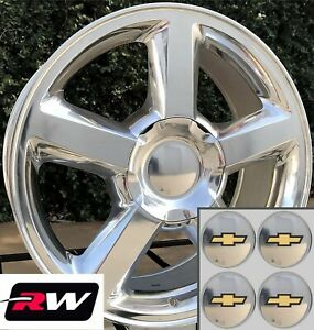 20 Inch Chevy Avalanche Ltz 5308 Factory Style Wheels Polished Rims 6x139 7