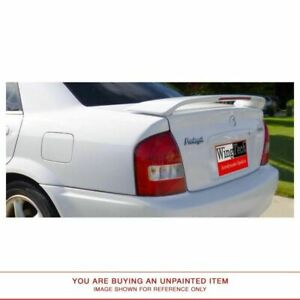 Unpainted Spoiler For Mazda Prot G 1999 2003 Post Lighted Abs Plastic Pre Drill