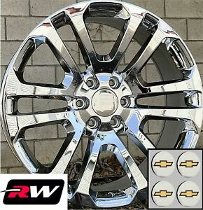 20 Inch 20 X9 Wheels For Chevy Tahoe Chrome Rims Ck158