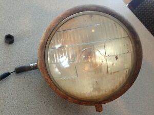 Early Ford 9n 1939 1940 1941 Cm Hall Headlight Tractor lite