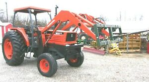 Kubota M8950 With Loader And Spear 96hp delivery 1 85 Per Loaded Mile