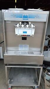 2000 Taylor 338 Cart Soft Serve Ice Cream Frozen Yogurt Machine Warranty 3ph Air