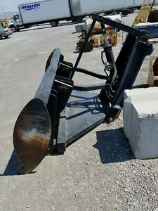 Champion Motor Grader Front Lift Group With Snow Plow Blade