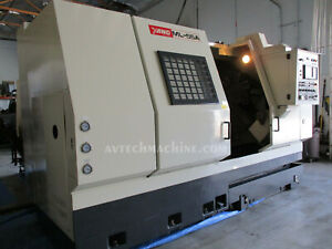 1995 Yang Ml 55a Cnc Turning Center With Fanuc Otc Control