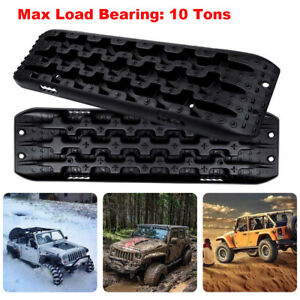 2x Recovery Tracks Traction Sand Mud Winter Snow Offroad Heavy Duty Tire Ladder