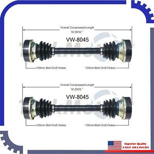 New 2 Pcs Cv Axle Shaft Rear Left Right For 1971 Volkswagen Transporter 261