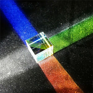 Beam Combiner Light Splitter Dichroic Mirror Lens Cube Prism Optical Glass