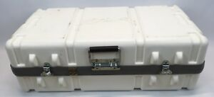 Parker Plastics Shipping Case Rugged Hard Plastic Transit Hinged Lid 28 x14 10