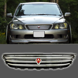 Fits For 2001 2005 Lexus Is300 Front Grill Chrome Logo Altezza Grille
