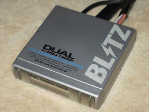 Jdm Blitz Dual Turbo Timer Spec S Boost Gauge