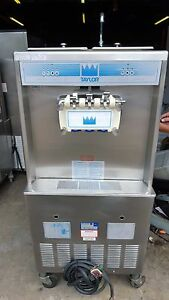 Taylor 754 Soft Serve Frozen Yogurt Ice Cream Machine Fully Working 3ph Water